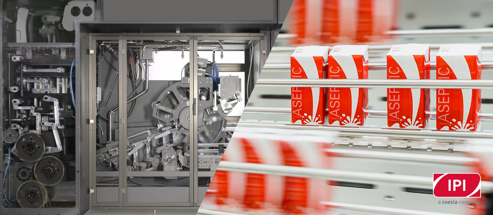 Aseptic carton filling machines: the choice between mechanical and mechatronic solutions