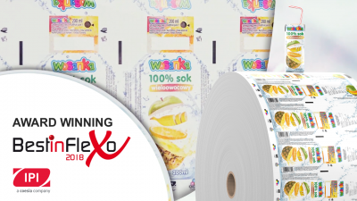 IPI wins BestInFlexo 2018 award for quality of flexographic printing
