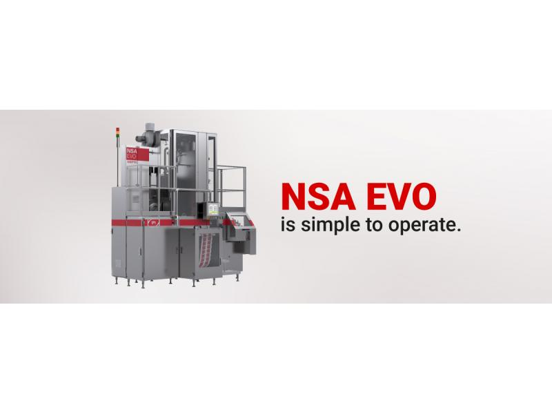 IPI - NSA EVO carton packaging  machine