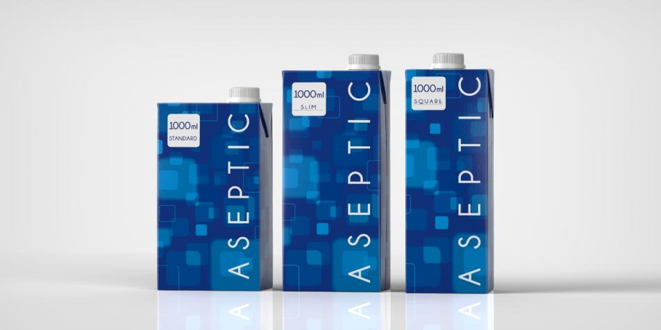 IPI Standard, Slim and Square aseptic cartons