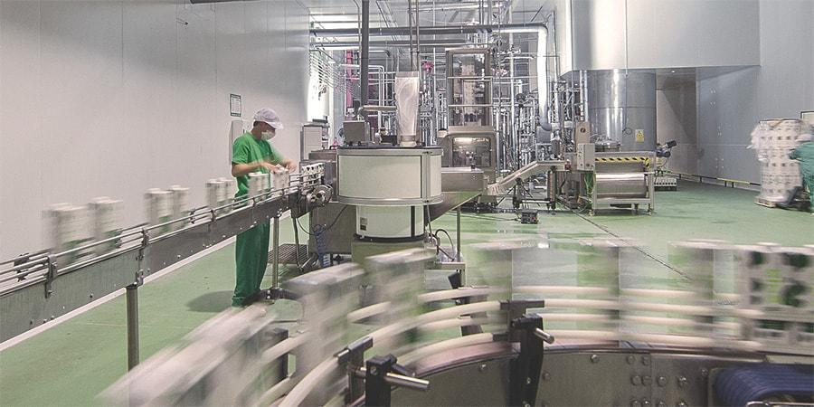 IPI aseptic packaging line