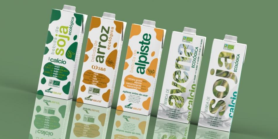 Soria Natural IPI Square aseptic carton organic drinks