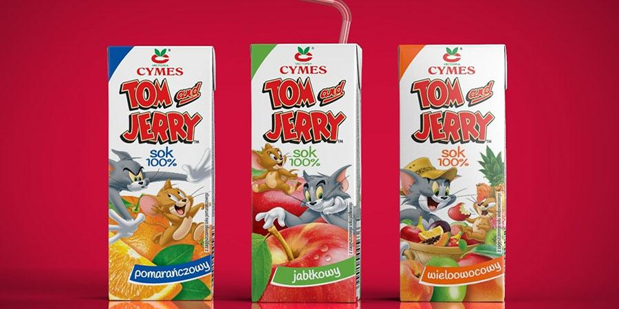 Victoria Cymes brings Tom and Jerry cartoon in aseptic drinking package