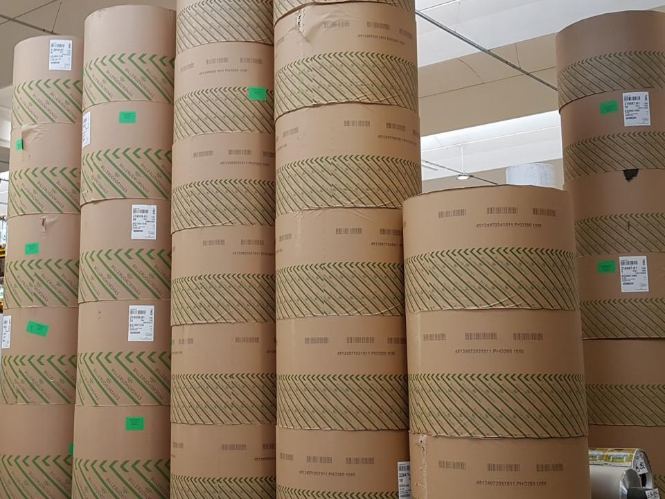 Paperboard is the main material in IPI aseptic carton bricks