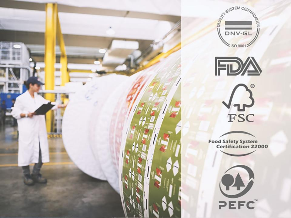 IPI aseptic packaging system certifications