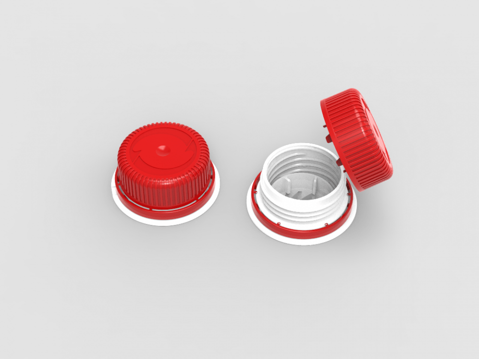 IPI patented Twist cap